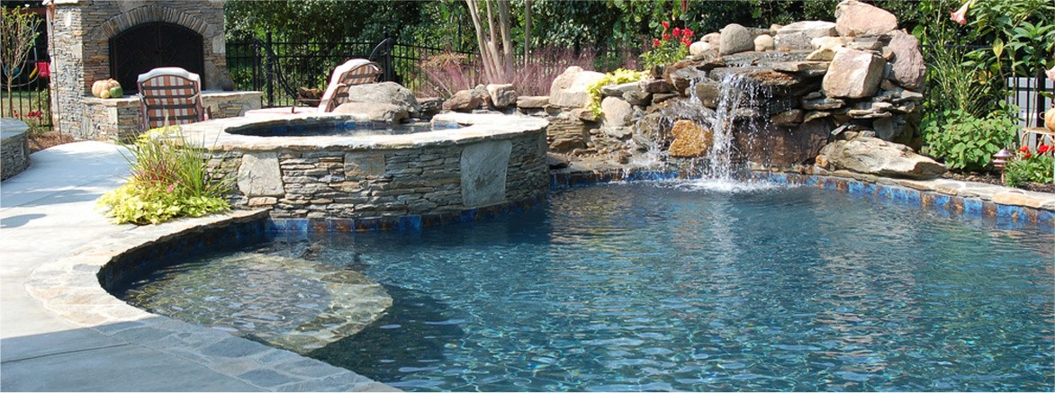 Charlotte NC Pool Builder - Backyard design charlotte