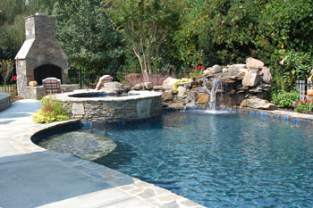 Charlotte North Carolina Pool Design Build - Backyard design charlotte